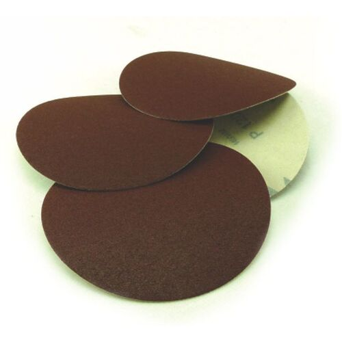 Paper Velstick Discs No Hole E28V Aluminium Oxide Stearated E Weight - 150mm