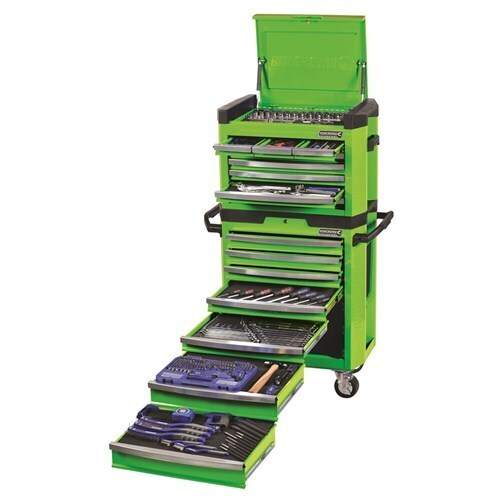 "Tool Workshop Green 329 Piece 1/4, 3/8 & 1/2"" Drive Kincrome K1501G"