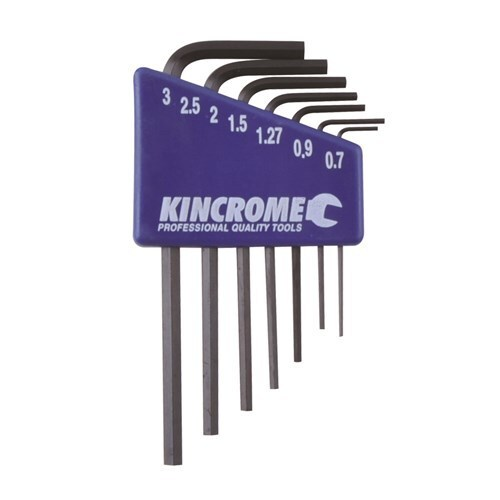 Mini Key Wrench Sets 7 Piece Metric Kincrome K5085